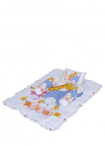 25054, Panel Print Comforter Set (Cotton)